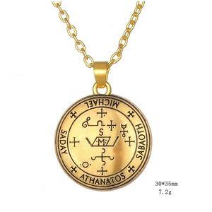 Jewelry - Archangel Michael Sigil Seal Solomon Necklace